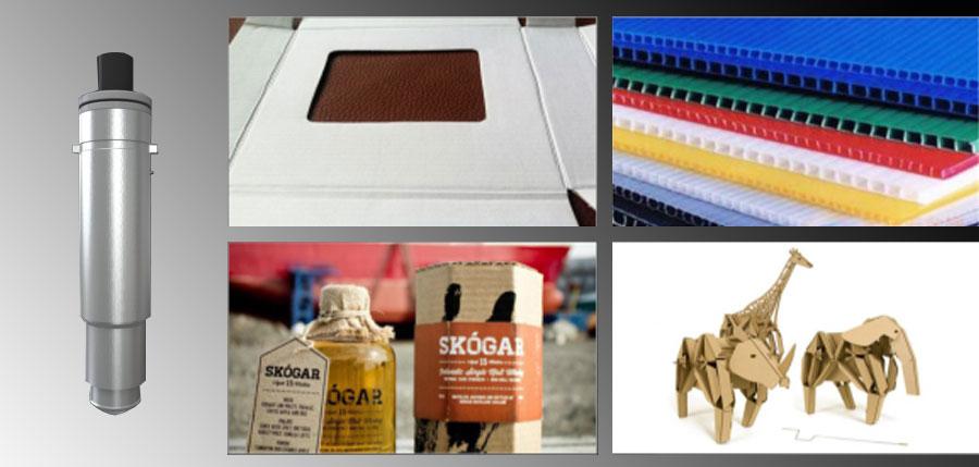 Iecho CTT: La herramienta de plegado se utiliza para hacer el plegado de los materiales corrugados, diferentes herramientas de plegado para diferentes materiales pueden hacer el pliegue perfecto.