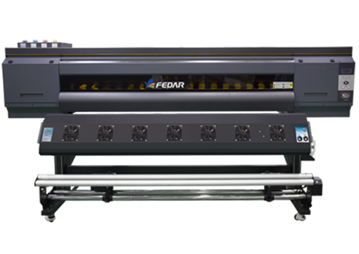 Impresora de sublimación F-5193 de color gris