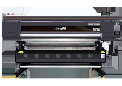 Impresora de sublimación F-5194 de color gris