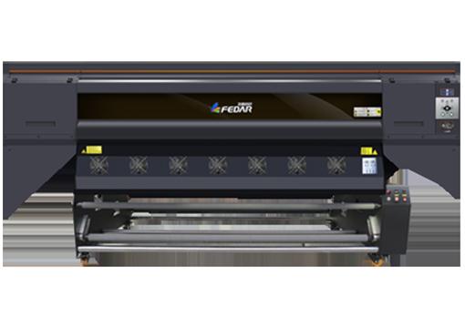 Impresora de sublimación F-5196 de color gris