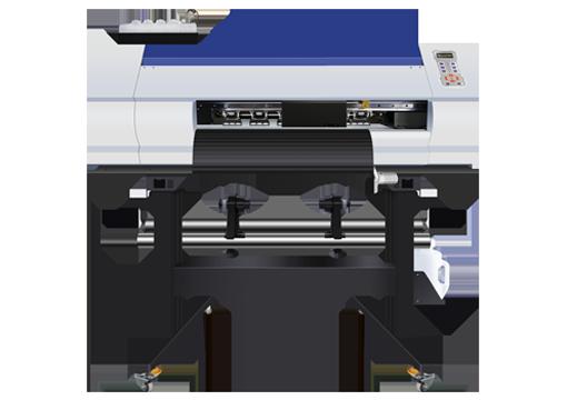 Impresora de impresión en film FD-65-2 de color blanco y azul